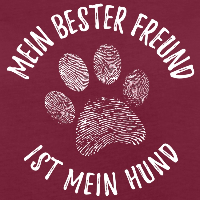 Vorschau: Mein Hund Bester Feund - Frauen Oversize T-Shirt