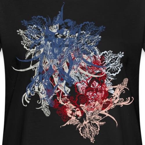 tango2018-bleu-ullabritt - Frauen Oversize T-Shirt