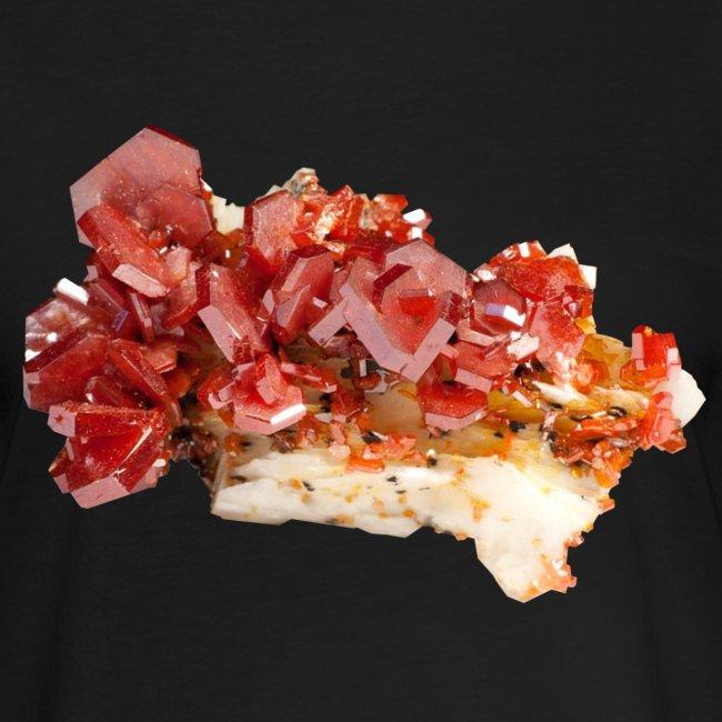 Vanadinit Mineral Kristall rot