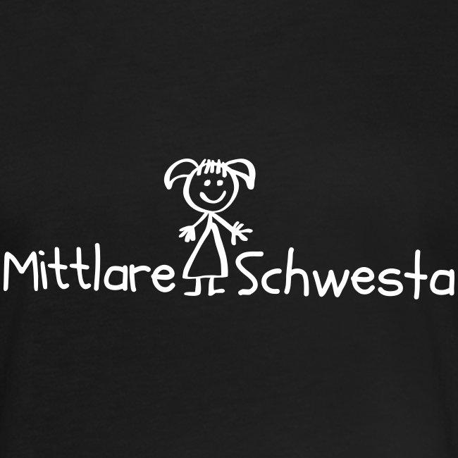 Vorschau: Mittlare Schwesta - Frauen Oversize T-Shirt