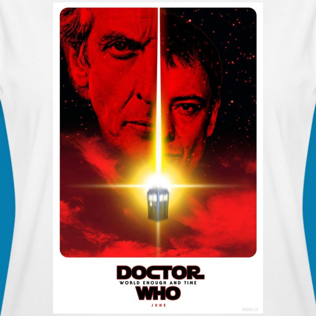 Twelfth Doctor and the Master poster