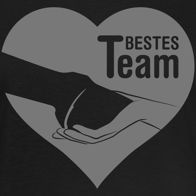 Vorschau: Bestes Team - Frauen Oversize T-Shirt