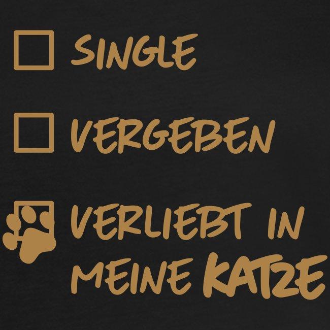 Vorschau: single verliebt katze - Frauen Oversize T-Shirt