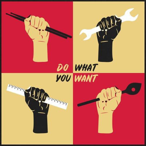 Do what U want [vec] - Frauen Oversize T-Shirt