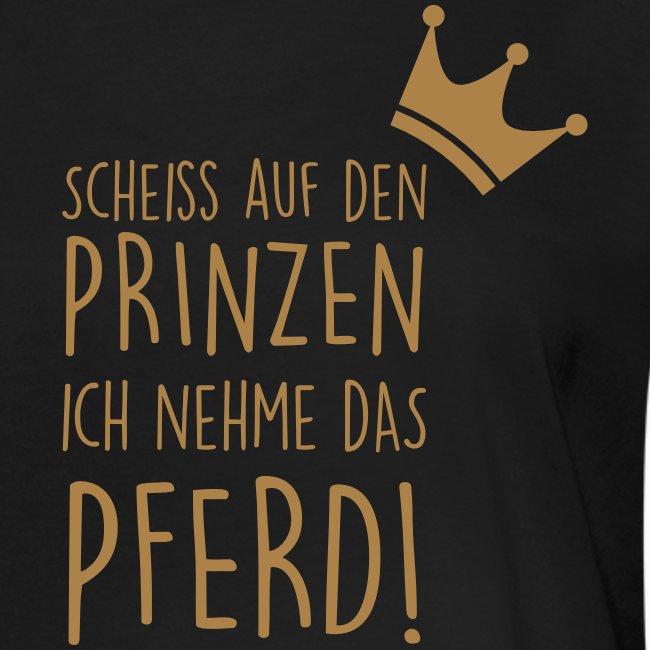 Vorschau: Prinz Pferd - Frauen Oversize T-Shirt