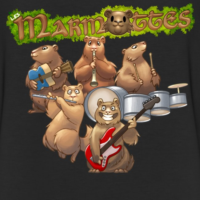 Tshirt groupe complet (dos)