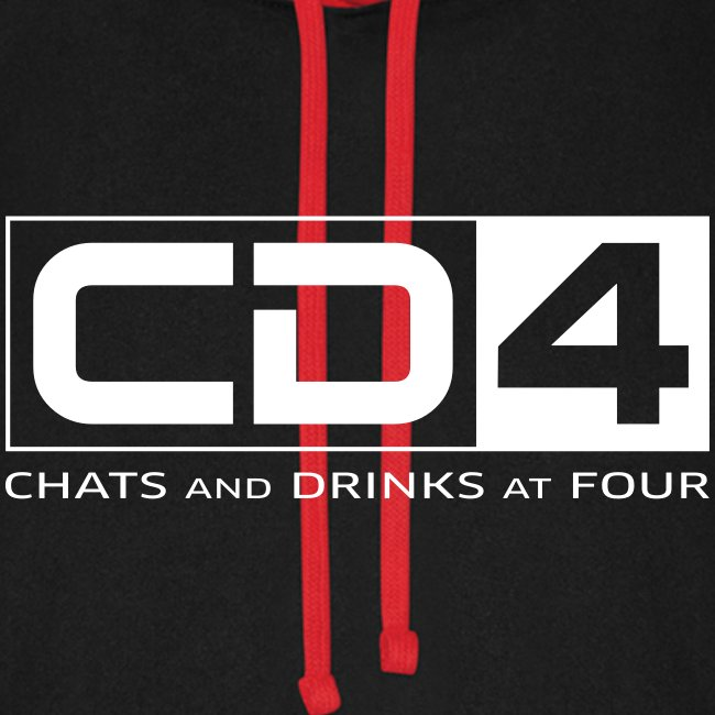 cd4 logo dikker kader bold font