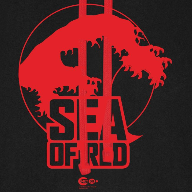 Sea of red logo - red