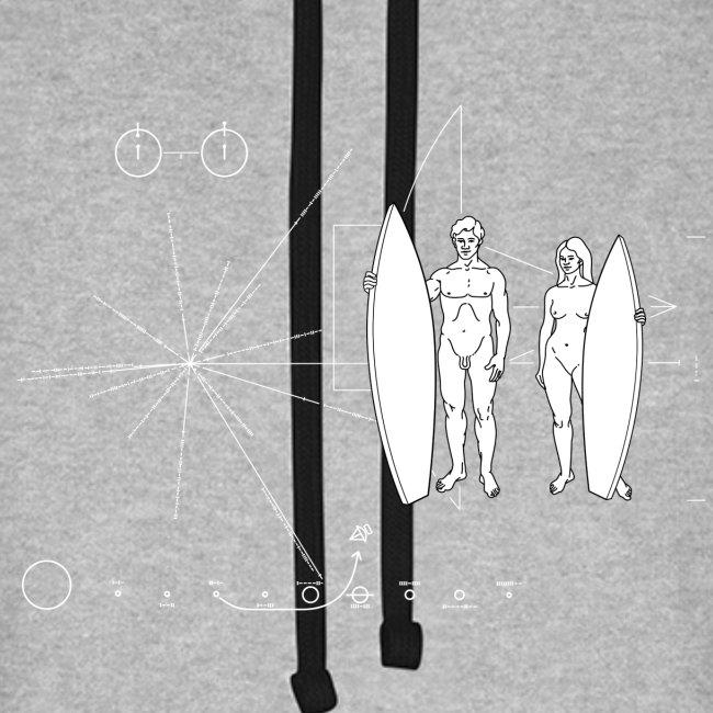 Surfboarder Pioneer plaque