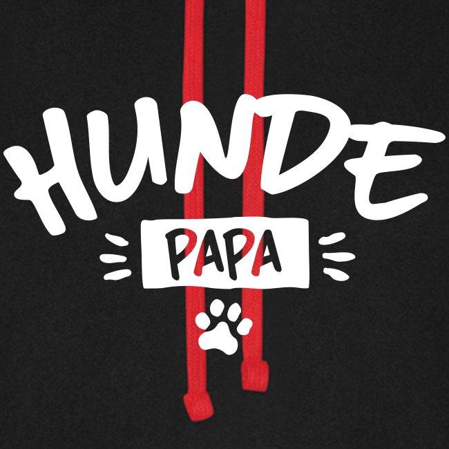 Vorschau: Hunde Papa - Unisex Baseball Hoodie