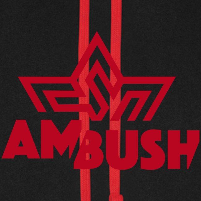 ambush logo mit schrift 2farbig