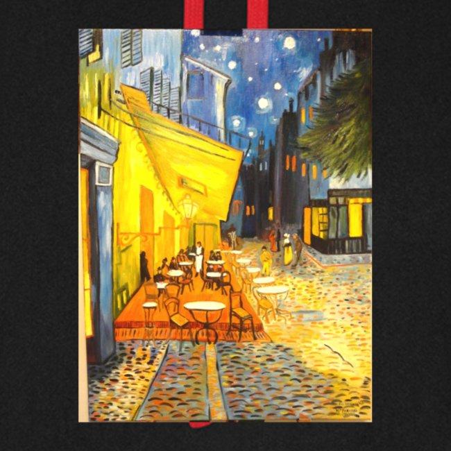 terrazza del caffe la sera place du forum Arles v