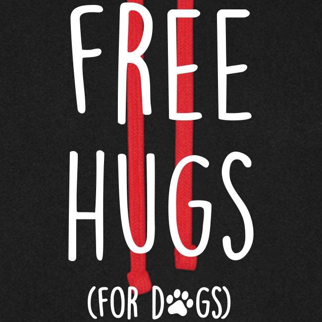 Vorschau: free hugs for dogs - Unisex Baseball Hoodie