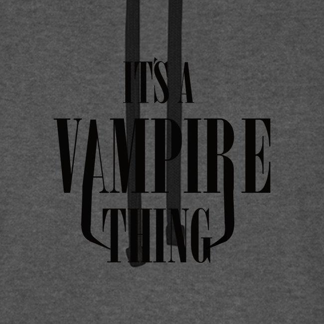 Its a Vampire Thing Bag