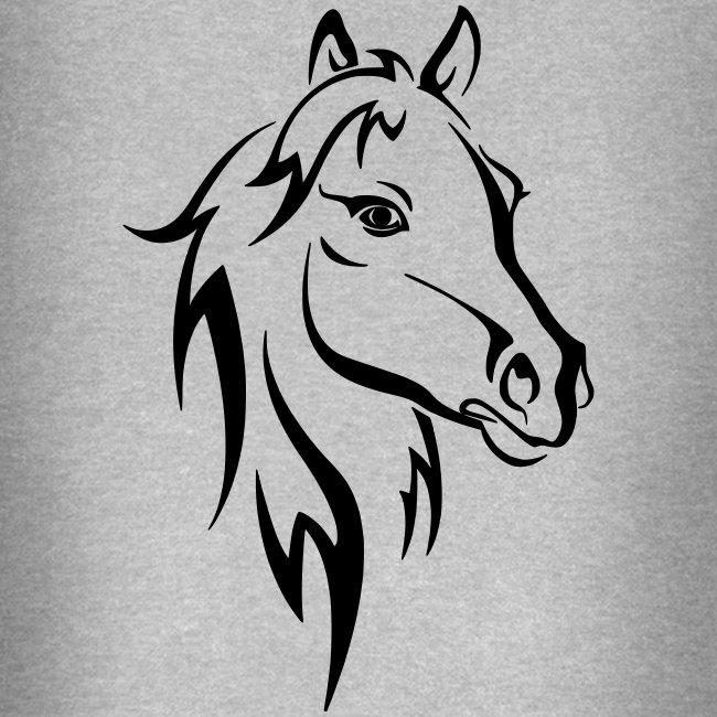 Vorschau: Horse - Unisex Baseball Hoodie
