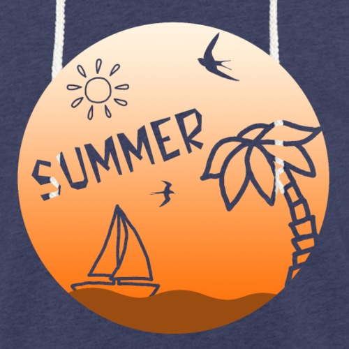 Summer - Kevyt unisex-huppari