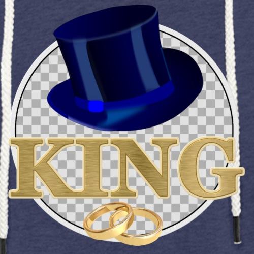 KING mit Hut - Leichtes Kapuzensweatshirt Unisex
