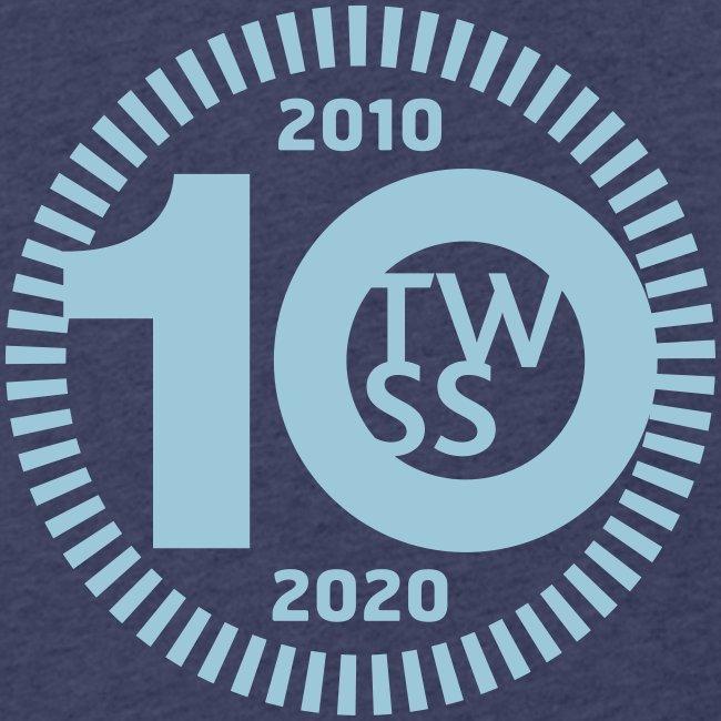 TWSS 10-jähriges Jubiläumslogo