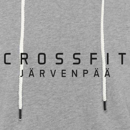 CrossFit Järvenpää mustateksti - Kevyt unisex-huppari