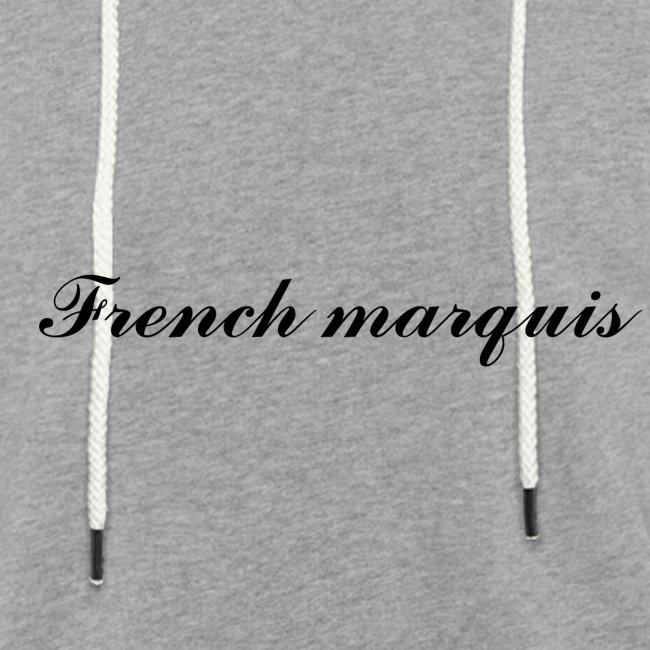 Sweat à capuche French marquis n°1