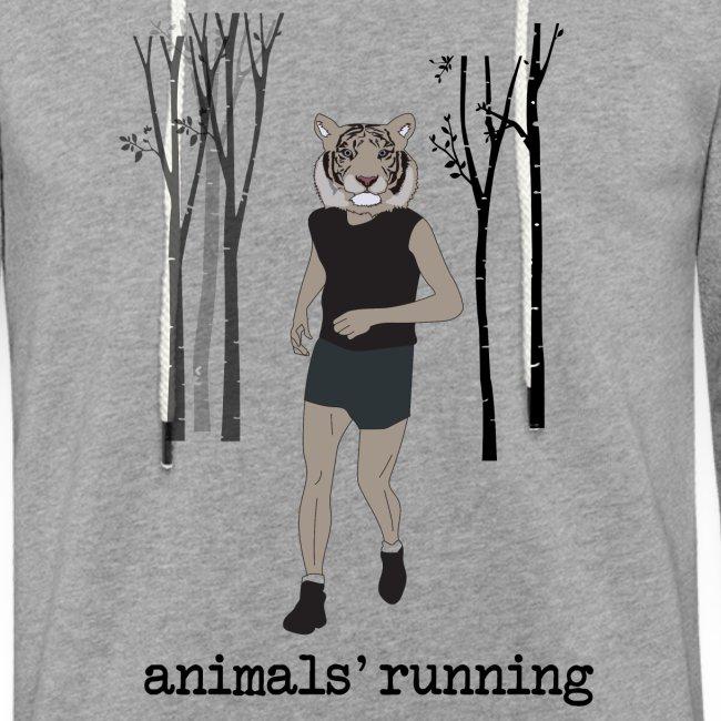 Tigre gris running
