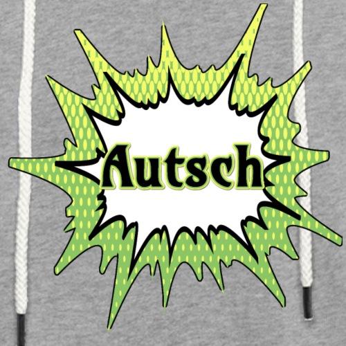 Comic Schrift Autsch - Leichtes Kapuzensweatshirt Unisex