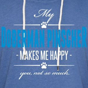 My Doberman Pinscher - Light Unisex Sweatshirt Hoodie