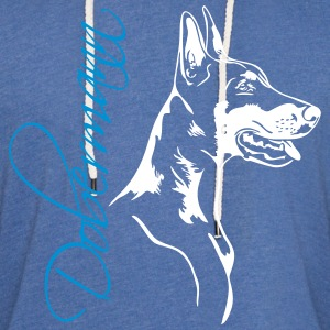 Doberman - Doberman Pinscher - Light Unisex Sweatshirt Hoodie