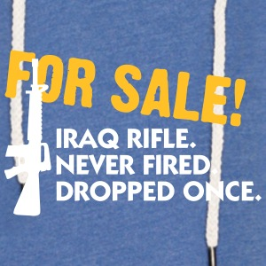 Rifle For Sale. Only Once Fired. - Light Unisex Sweatshirt Hoodie