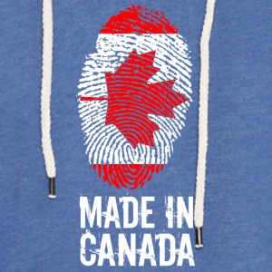 Made In Canada / Canada - Light Unisex Sweatshirt Hoodie