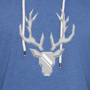 Precious Stone: Crystal Deer - Light Unisex Sweatshirt Hoodie