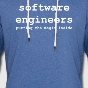 software_engineers - Sweat-shirt à capuche léger unisexe