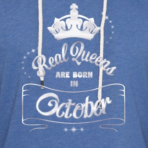 Queens October - Light Unisex Sweatshirt Hoodie
