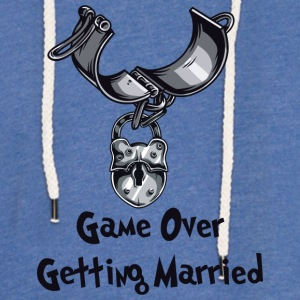 Game Over Getting Married - Lett unisex hette-sweatshirt