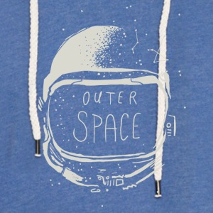 Outerspace - Sweat-shirt à capuche léger unisexe