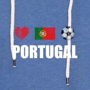 Portugal Portuguese Football Soccer T-Shirt - Light Unisex Sweatshirt Hoodie