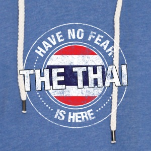 Har No Fear The Thai Is Here - Lett unisex hette-sweatshirt