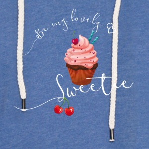 sweetie sweet cupcake muffin love cherry pink LOL - Light Unisex Sweatshirt Hoodie