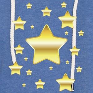 golden Star - Lett unisex hette-sweatshirt