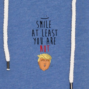 Smile, Trump - Light Unisex Sweatshirt Hoodie