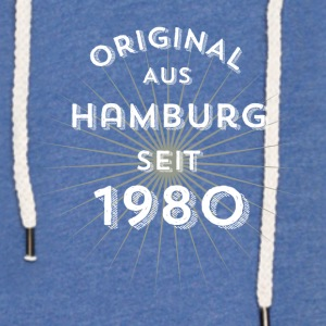 Original from Hamburg since 1980 - Light Unisex Sweatshirt Hoodie