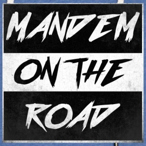 mandem_on_the_road0000 - Lekka bluza z kapturem – typu unisex