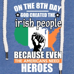 irish heros - Light Unisex Sweatshirt Hoodie