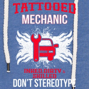 TATTOOED MECHANIC - Leichtes Kapuzensweatshirt Unisex