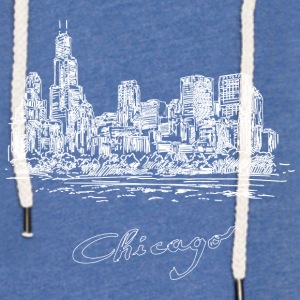 Chicago City - United States - Lett unisex hette-sweatshirt