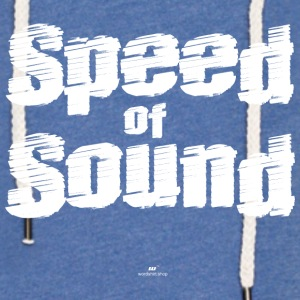 Speed ​​of Sound - Lätt luvtröja unisex