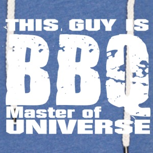 This Guy is BBQ Master of universe - Grillmeister - Light Unisex Sweatshirt Hoodie