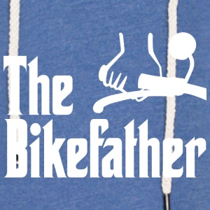 The Bikefather - Leichtes Kapuzensweatshirt Unisex
