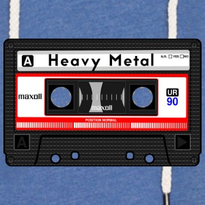 HEAVY METAL CASSETTE - Light Unisex Sweatshirt Hoodie