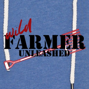Farmer / Farmer / Farmer: Farmer Wild Unleashed - Light Unisex Sweatshirt Hoodie